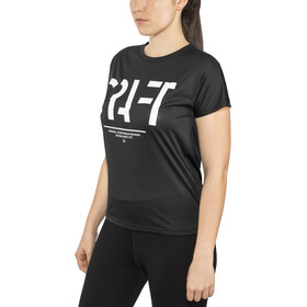 Craft Eaze Logo T-Shirt z siateczką Kobiety, black